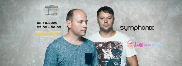 Flyer Saison Opening w/ Symphonix 2020-10-02 23:00:00Z