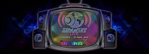 Flyer Schlaflos Live - Ässit Chinder Acid 2021-03-27 19:00:00Z