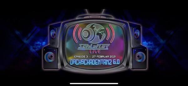 Flyer Schlaflos Live w/ Journey to Gaia 2021-02-27 19:00:00Z