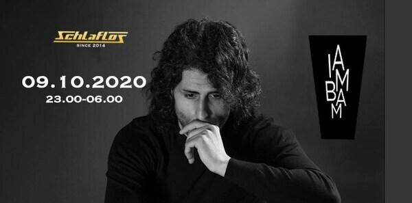 Flyer Einfach Techno w/ I AM BAM 2020-10-09 23:00:00Z