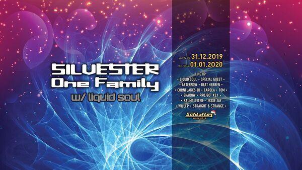 Flyer Silvester - One Family w/ Liquid Soul 2019-12-31 22:00:00Z