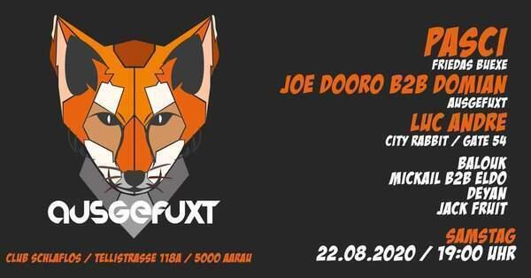 Flyer Ausgefuxt 2020-08-23 19:00:00