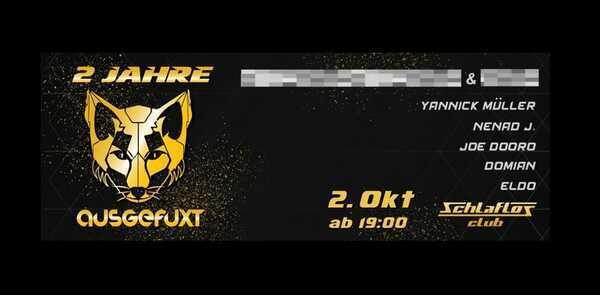 Flyer 2 Jahre AUSGEFUXT 2021-10-02 19:00:00