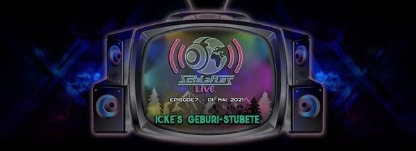 Flyer Schlaflos Live - Geburi Stubete 2021-05-01 20:00:00Z